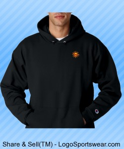 Adult Sweatshirt w/ Logo on Front Design Zoom